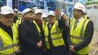 Cumhurbaşkanı Gül, Letonya'da Türk Firmanın İnşa Ettiği Çevrim Satralini Ziyaret Etti.