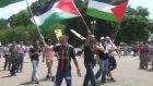 İsrail'in Gazze Saldırılarının Protesto Edilmesi - Washıngton