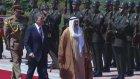 Kuveyt Emiri Şeyh Sabah Çankaya Köşkü'nde