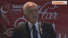 Saadet Partisi Genel Başkanı Kamalak