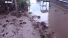 Bismil Tepe Beldesinde Sel Baskını
