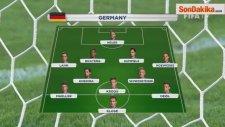 Dünya Kupası Final Maçının 11'leri Belli Oldu