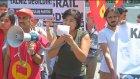 İsrail'in Gazze Saldırılarının Protesto Edilmesi - Galatasaray Meydanı - İstanbul