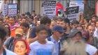 İsrail'in Gazze Saldırılarının Protesto Edilmesi - Taksim - İstanbul