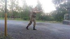 Hasdal Kışlasında Canı Sıkılan Asker