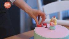 Pasta Nasıl Süslenir / Şeker Hamuru İle Pasta Süsleme