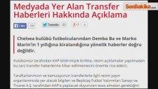 Beşiktaş: Demba Ba Ve Marin Haberleri Asılsız