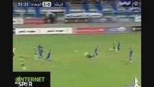 Urdun Ligi'nde Zlatan'ı Kıskandıracak Gol (İnternetspor)