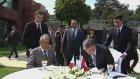 Tataristan Cumhurbaşkanı Shaymiyev ile Öğle Yemeği