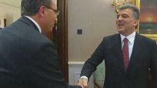 Cumhurbaşkanı Gül, Kayseri Barosu Heyetini Kabul Etti