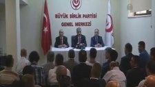 BBP, Ekmeleddin İhsanoğlu'nu Destekleyecek