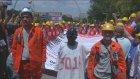 Soma Maden İşçileri Tbmm'ye Yürüdü - Ankara