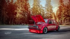 Eski Kasa Golf GTI - WIDE BODY KIT