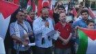 İsrail'in, Gazze'ye Saldırıları Protesto Edildi - İstanbul