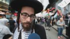 İsrail'in Gazze Saldırılarının Protesto Edilmesi - New York