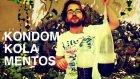 Kola + Mentos + Prezervatif Deneyi