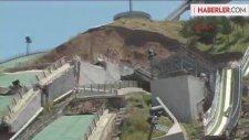 Erzurum'da Çok Büyük Tehlike Atlatılmış