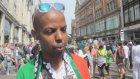 İsrail'in Gazze Saldırılarının Protesto Edilmesi - Londra