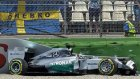 Lewis Hamilton Spin Attı