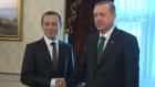 Başbakan Erdoğan, Cüneyt Çakır'ı Makamında Kabul Etti...