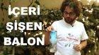 Şişenin İçine Doğru Şişen Balon Deneyi