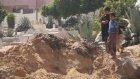İsrail'in Hava Saldırılarında Filistin Mezarlığı Büyük Hasar Gördü - Gazze