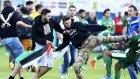Maccabi Haifa Futbolcularının Maçta Saldırıya Uğraması