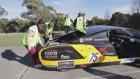 Güneş Enerjili Araba ile Rekor Hız