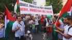 İsrail'in Gazze Saldırılarının Protesto Edilmesi - Roma