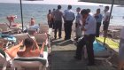 Boğulan Turistin Cenazesine Aldırmadan Denize Girdiler - Antalya