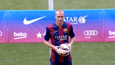 Jeremy Mathieu'nun Barça'daki İlk Günü!