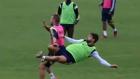 Diego Ribas'tan antrenmanda enfes gol!