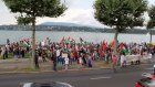 İsrail'in Gazze'ye saldırıları protesto edildi - CENEVRE