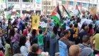 İsrail'in Gazze saldırıları protesto edildi - BRÜKSEL