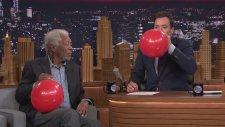 Morgan Freeman Ve Helyum Gazı