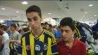 Fenerbahçeli futbolcular, taraftarlarla buluştu - İSTANBUL