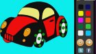 Kaplumbaga Arabası Boyama Oyunu