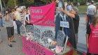Beyaz Saray önünde, İsrail'in Gazze'ye saldırılarının protesto ettiler - WASHINGTON