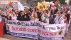 """""""Genç Ümmet Sevdalıları""""ndan protesto yürüyüşü - İSTANBUL"""