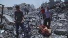 Saldırıların ardından Beyt Hanun'daki evler harabeye döndü (8) - GAZZE