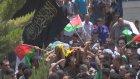 Gösterilerde hayatını kaybeden Filistinli Uday Jabr'ın cenazesi - RAMALLAH