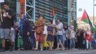 İsrail'in Gazze'ye saldırılarını protesto ettiler - BERLİN