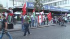 İsrail'in Gazze'ye saldırılarının protesto edilmesi - BEYRUT