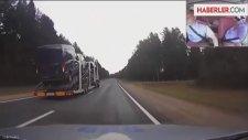 Polisten Kaçan Tır Şoförü Ortalığı Birbirine Kattı