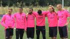 Barça'nın yeni transferleri basına poz verdi!