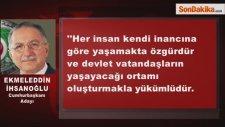 Ekmeleddin İhsanoğlu: İslamcı Bir Politikacı Değilim