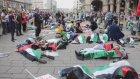 İsrail Gazze'ye saldırılarına protesto-Viyana