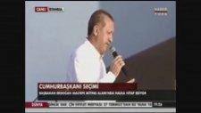 Recep Tayyip Erdoğan'ın Elini Tutunca Ayılan Kadın