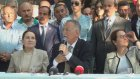 Cumhurbaşkanı adayı İhsanoğlu, Bilecik'te