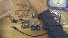 Örümcek Robot'un Yapımı İçin Gereken Alet ve Malzemeler